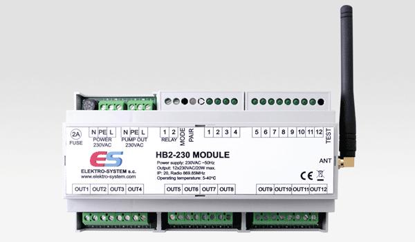 Zdjęcie główne produktu Listwa bezprzewodowa ogrzewania podłogowego HB2