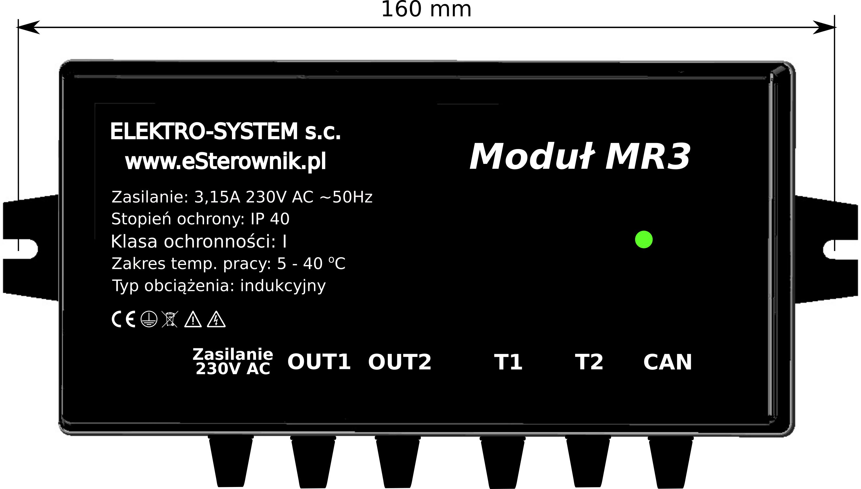 Zdjęcie główne produktu Moduł rozszerzeń MR3