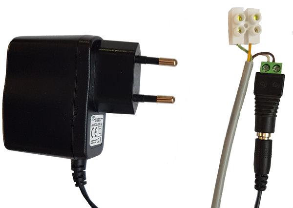 Zdjęcie główne produktu Zasilacz 12V DC ze złączami