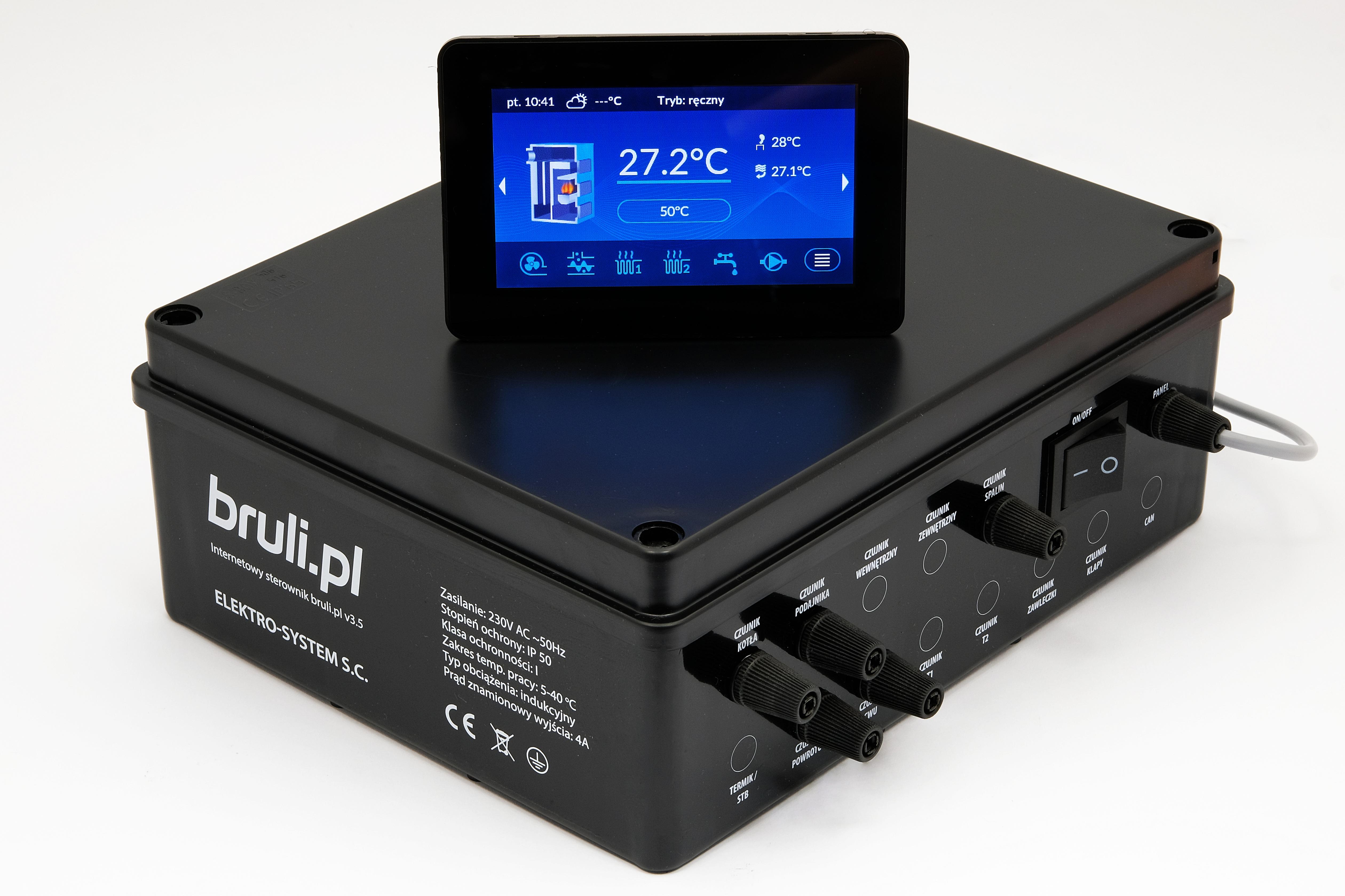 Zdjęcie główne produktu Sterownik Bruli.pl v3.5 LCD CD2